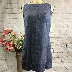 DKNY Denim Mini Dress